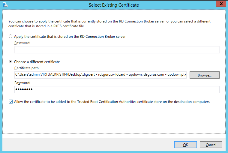 Windows 2012 R2 – How to Create a (Mostly) Seamless Logon Experience