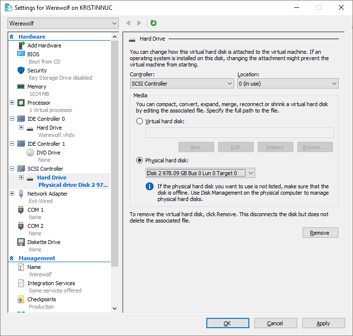 Run Windows Server 2016 from external USB SSD – RDS Gurus